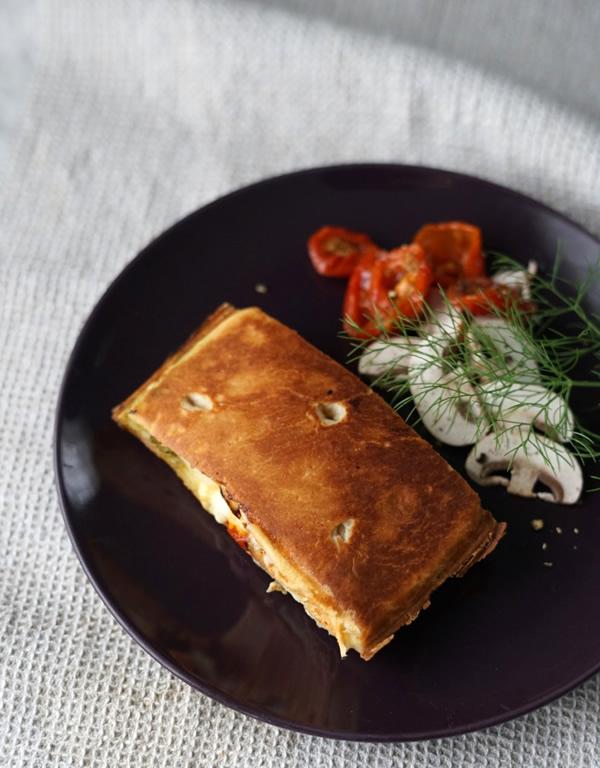 超熟 フォカッチャ ホットサンド イタリア風