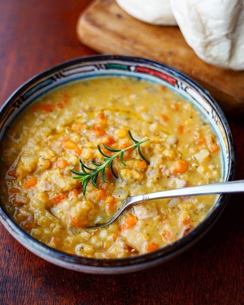 レンズ豆 野菜 スープ