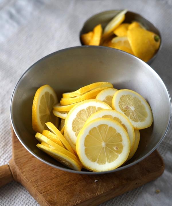レモンシロップ 皮付き