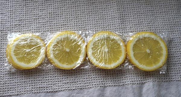 冷凍レモン 輪切り