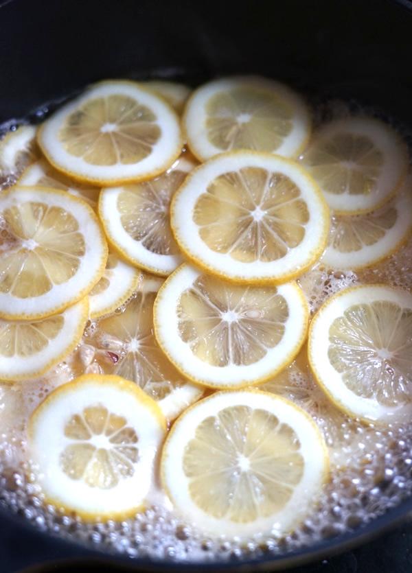 レモンシロップ 砂糖