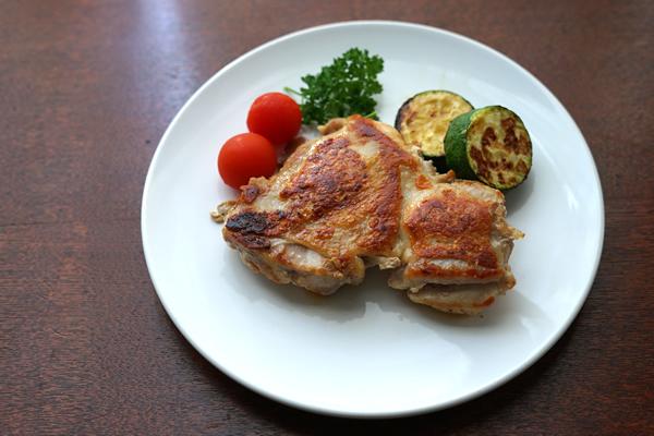 鶏もも肉 パリパリ