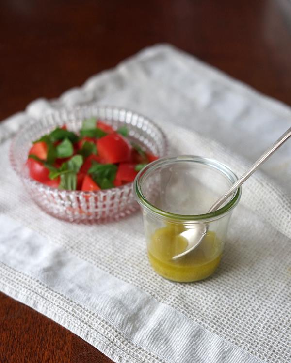 トマトサラダ 玉ねぎ