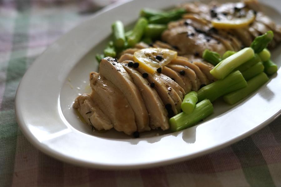 鶏胸肉 オリーブオイル