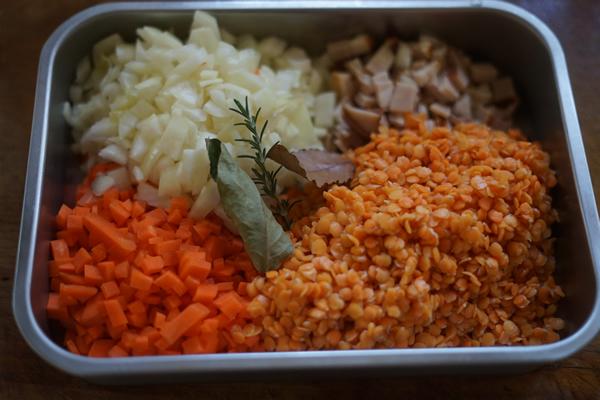 レンズ豆 スープ レシピ