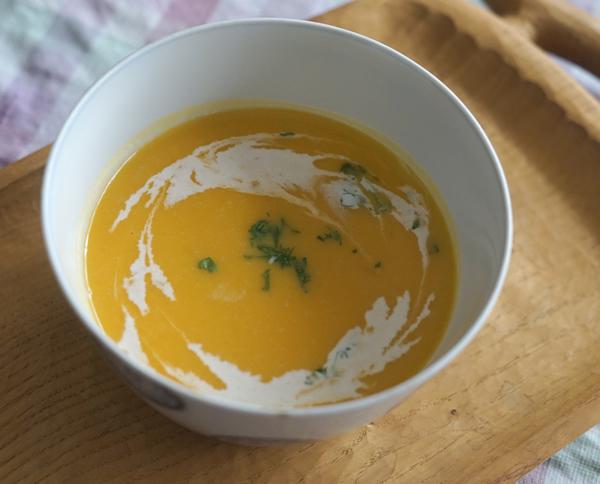 かぼちゃ 濃厚 スープ