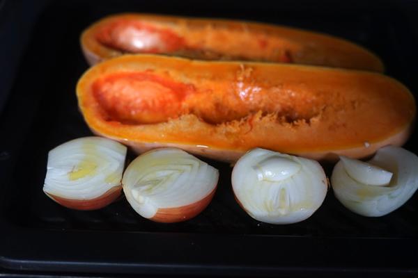 バターナッツ かぼちゃ オーブン
