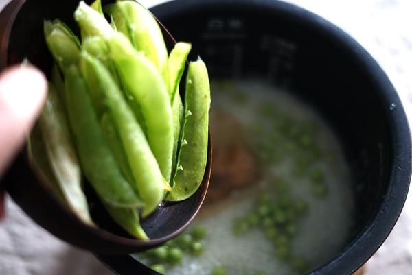 生グリーンピース レシピ