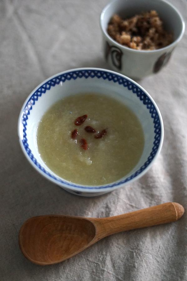 夏の冬瓜スープ
