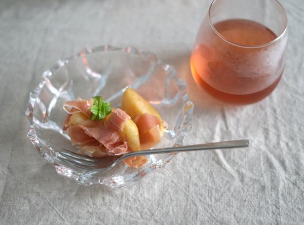 桃 ハモンセラーノ