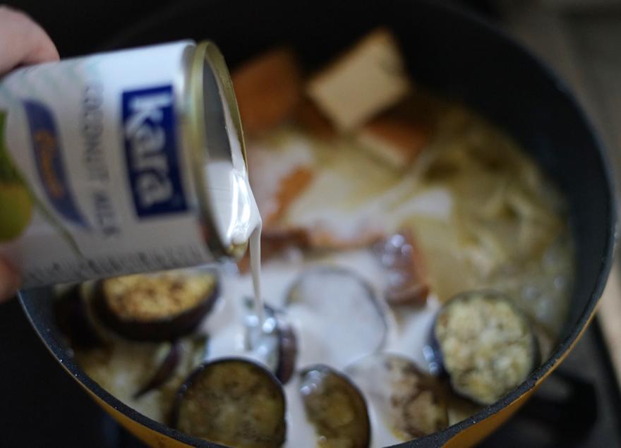 ココナッツミルク カレー