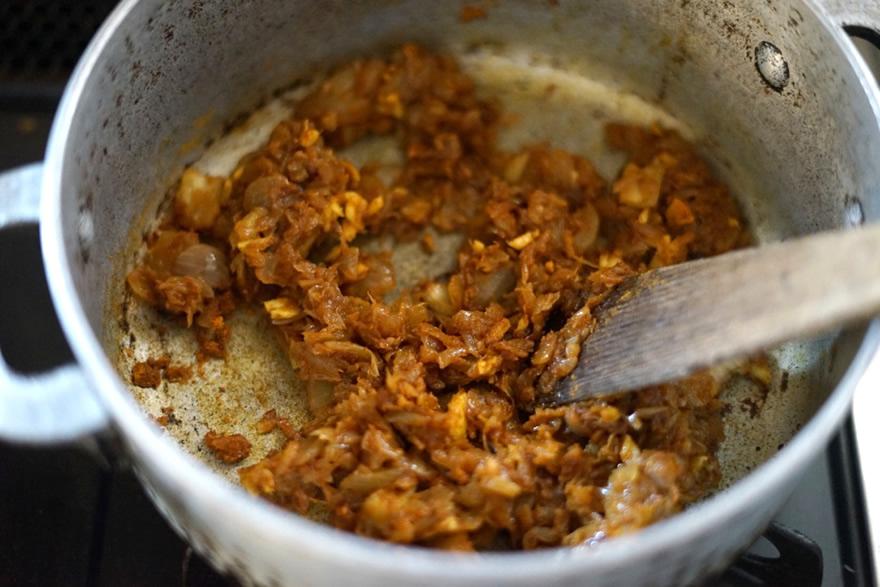玉ねぎ カレー粉