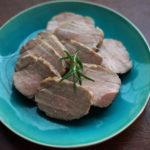 ローストポーク もも肉 低温調理