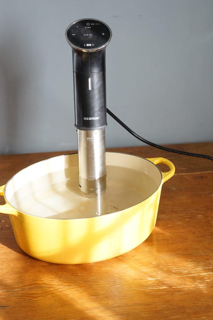 アイリスオーヤマ 低温調理器 鍋