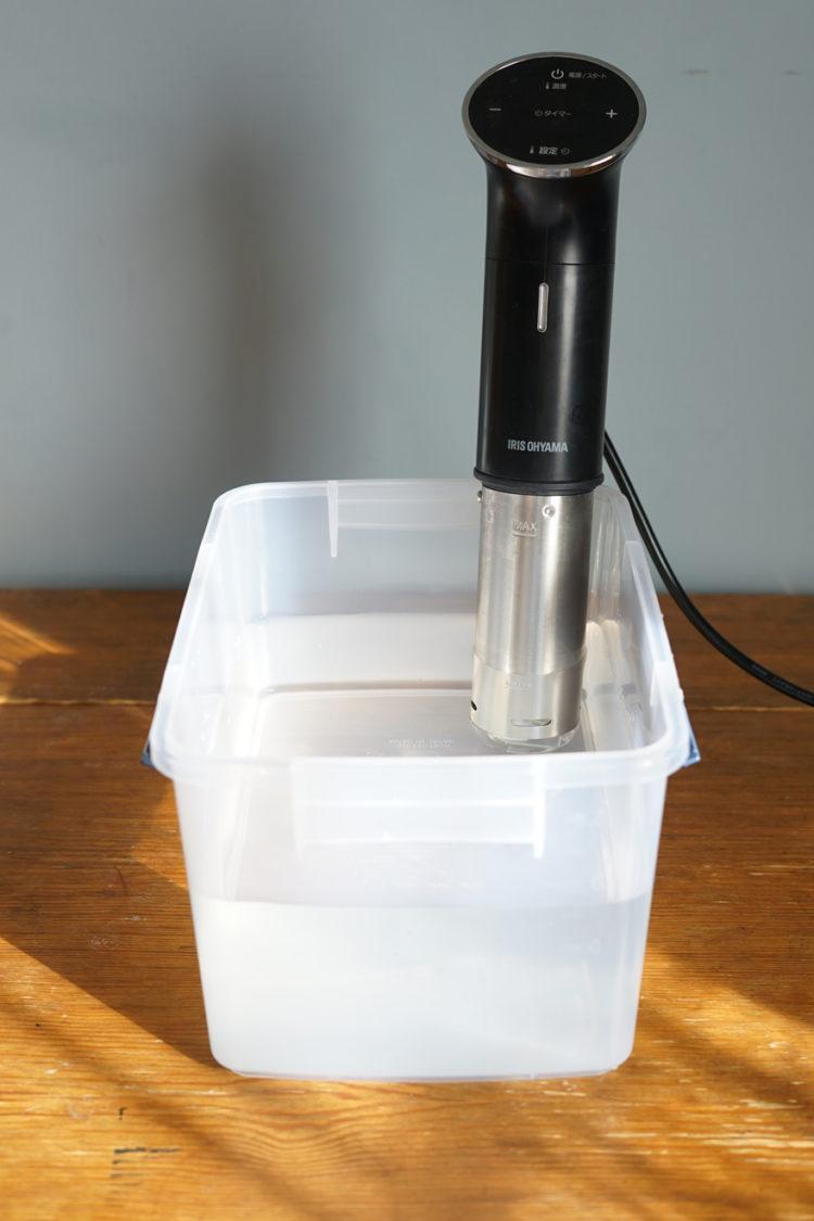 低温調理器 容器 アイリスオーヤマ