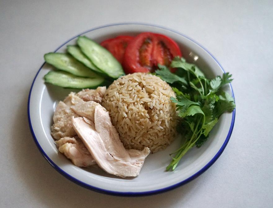 海南鶏飯 低温調理 シンガポールチキンライス